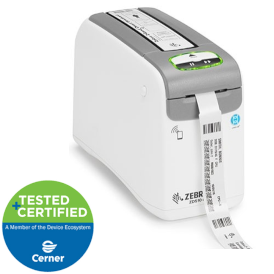 zd510 medical wristband lable printer