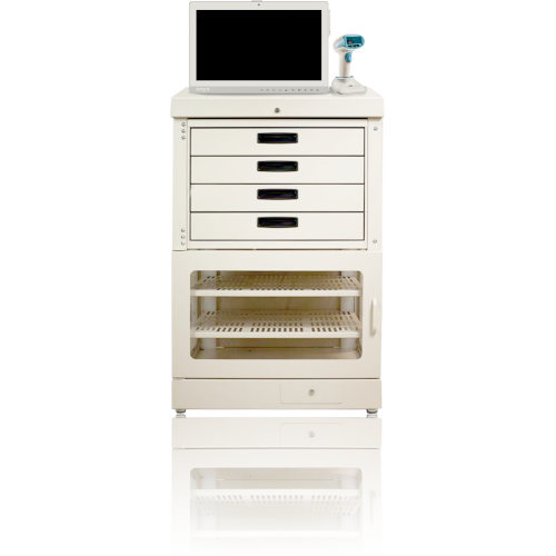 medication automatic dispensing unit half tower